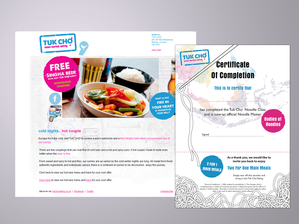 tuk cho, ealing