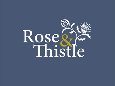 ROSE & THISTLE LOGO DESIGN