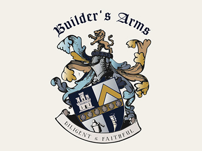 BUILDERS ARMS LOGO DESIGN