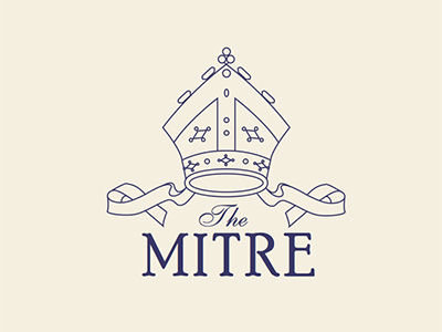 THE MITRE LOGO DESIGN