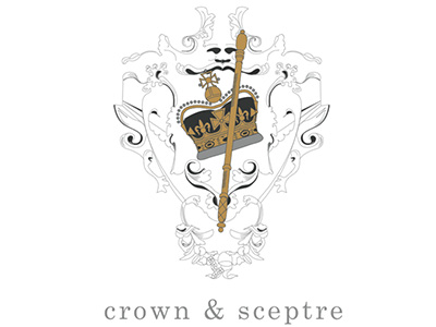 CROWN & SCEPTURE LOGO DESIGN