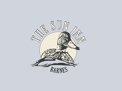 THE SUN INN LOGO DESIGN