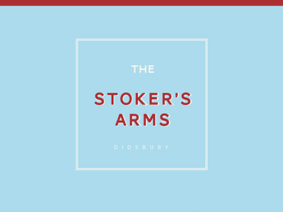 STOKERS ARMS LOGO DESIGN